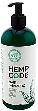 Parfémy, Parfumerie, kosmetika Regenerační vlasový šampon s konopným olejem - Good Mood Hemp Code Hair Shampoo