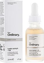 Parfémy, Parfumerie, kosmetika Peeling sérum na obličej s kyselinou mléčnou - The Ordinary Lactic Acid 5% + HA 2%