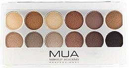 Parfémy, Parfumerie, kosmetika Paleta očních stínů - MUA Undress Me Too Eyeshadow Palette