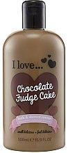Parfémy, Parfumerie, kosmetika Sprchový krém a pěna do koupele - I Love... Chocolate Fudge Cake Bubble Bath And Shower Creme