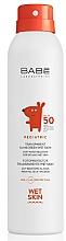 Parfémy, Parfumerie, kosmetika Dětský sprej na opalování SPF 50+ - Babe Laboratorios Pediatric Wet Skin