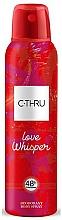 Parfémy, Parfumerie, kosmetika C-Thru Love Whisper - Tělový deodorant