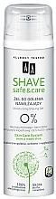 Parfémy, Parfumerie, kosmetika Gel na holení - AA Shave Safe&Care