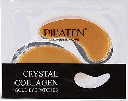 Parfémy, Parfumerie, kosmetika Oční masky-náplasti s kolagenem - Pilaten Crystal Collagen Gold Eye Mask