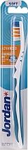 Parfémy, Parfumerie, kosmetika Měkký zubní kartáček Advanced, bílo-modrý - Jordan Advanced Soft Toothbrush