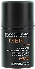 Parfémy, Parfumerie, kosmetika Aktivní hydratační matující balzám - Academie Men Active Moist & Matifying Balm