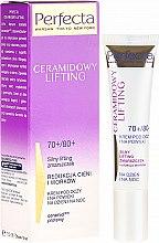 Parfémy, Parfumerie, kosmetika Oční krém - Perfecta Ceramid Lift 70+/80+ Eye Cream