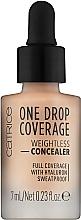 Parfémy, Parfumerie, kosmetika Korektor - Catrice One Drop Coverage Weightless Concealer