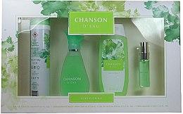 Parfémy, Parfumerie, kosmetika Coty Chanson d'Eau - Sada (edt/100ml + sh/gel/200ml + deo/200ml + edt/15ml)