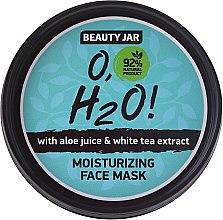 Parfémy, Parfumerie, kosmetika Hydratační obličejová maska - Beauty Jar O,H2O Moisturizing Face Mask