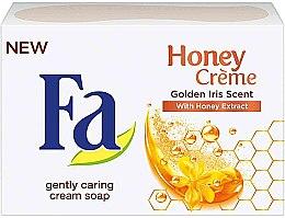 "Parfémy, Parfumerie, kosmetika Mýdlo ""Aroma zlatých kosatců"" - Fa Honey Creme Golden Iris Cream Soap"