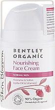 Parfémy, Parfumerie, kosmetika Výživný krém pro normální plet' - Bentley Organic Skin Blosso Nourishing Face Cream