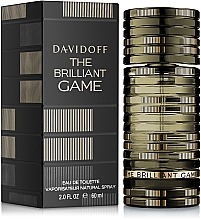 Parfémy, Parfumerie, kosmetika Davidoff The Brilliant Game - Toaletní voda