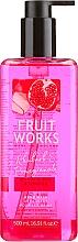 Parfémy, Parfumerie, kosmetika Mýdlo na ruce Rhubarb & Pomegranate - Grace Cole Fruit Works Hand Wash Rhubarb & Pomegranate