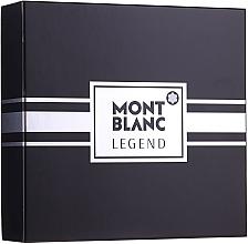 Parfémy, Parfumerie, kosmetika Montblanc Legend - Sada (edt/100ml+ash/balm/100ml+edt/mini/7.5ml)
