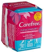 Parfémy, Parfumerie, kosmetika Hygienické denní vložky - Carefree Flexi Comfort Pantyliners With Soft Scent