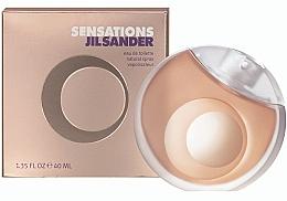 Parfémy, Parfumerie, kosmetika Jil Sander Sensations - Toaletní voda