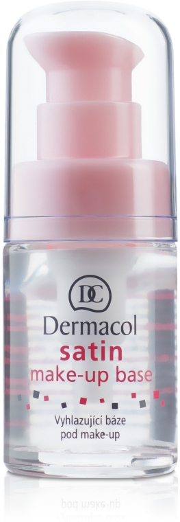 Podkladová báze pod make-up s vyhlazujícím efektem - Dermacol Satin Base Make-Up