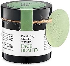 Parfémy, Parfumerie, kosmetika Lehká denní krém pro problémovou pleť - Make Me BIO Beautiful Face