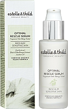 Parfémy, Parfumerie, kosmetika Pleťové sérum - Estelle & Thild BioCalm Optimal Rescue Serum