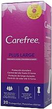 Parfémy, Parfumerie, kosmetika Hygienické slipové vložky - Carefree Plus Large