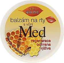 Parfémy, Parfumerie, kosmetika Balzám na rty - Bione Cosmetics Honey + Q10 With Vitamin E and Bee Wax Lip Balm