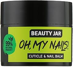 Parfémy, Parfumerie, kosmetika Balzám na nehty a nehtovou kůžičku Oh My Nails! - Beauty Jar Cuticle&Nail Balm