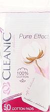"Parfémy, Parfumerie, kosmetika Vatové tampony kosmetické ""Pure Effect"" , 50ks - Cleanic Face Care Cotton Pads"