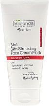 Parfémy, Parfumerie, kosmetika Stimulující krémová maska na obličej - Bielenda Professional Individual Beauty Therapy 3in1 Skin Stimulating Face Cream Mask