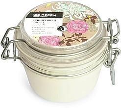 Parfémy, Parfumerie, kosmetika Tělový peeling Kokos a Lilie - Bio Happy Coco & Lilac Body Scrab