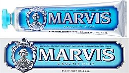 "Parfémy, Parfumerie, kosmetika Zubní pasta s xylitolem ""Mořská máta"" - Marvis Aquatic Mint + Xylitol"