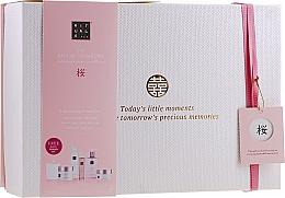 Parfémy, Parfumerie, kosmetika Sada - Rituals The Ritual of Sakura Ceremony XL (b/scrub/250ml + s/gel/200ml + b/cr/200ml + soap/300ml + b/mist/50ml + candle/290g)