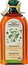 """Parfémy, Parfumerie, kosmetika Šampon """"Zinek + Březový dehet"""" - Green Pharmacy"""