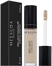 Parfémy, Parfumerie, kosmetika Tekutý korektor - Mesauda Milano Pro Light Concealer