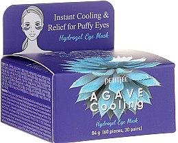 Parfémy, Parfumerie, kosmetika Hydrogelové chladicí oční náplasti s extraktem z agáve - Petitfee&Koelf Agave Cooling Hydrogel Eye Mask