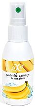 """Parfémy, Parfumerie, kosmetika Ústní sprej """"Banán"""" - Hristina Cosmetics Banana Mouth Spray"""