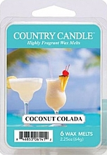 Parfémy, Parfumerie, kosmetika Vosk do aromalampy - Country Candle Coconut Colada Wax Melts