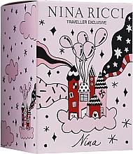 Parfémy, Parfumerie, kosmetika Nina Ricci Nina - Sada (edt/80ml + edt/roll/10ml)
