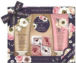 Parfémy, Parfumerie, kosmetika Sada - Baylis & Harding Royale Garden (sh/cr/200ml + b/lot/200ml + b/butter/50ml + soap/6g)