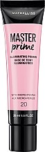 Parfémy, Parfumerie, kosmetika Korekční podkladová báze pod make-up - Maybelline Master Prime 20 Illuminating
