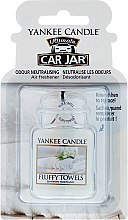 Parfémy, Parfumerie, kosmetika Vůně do auta - Yankee Candle Car Jar Ultimate Fluffy Towels