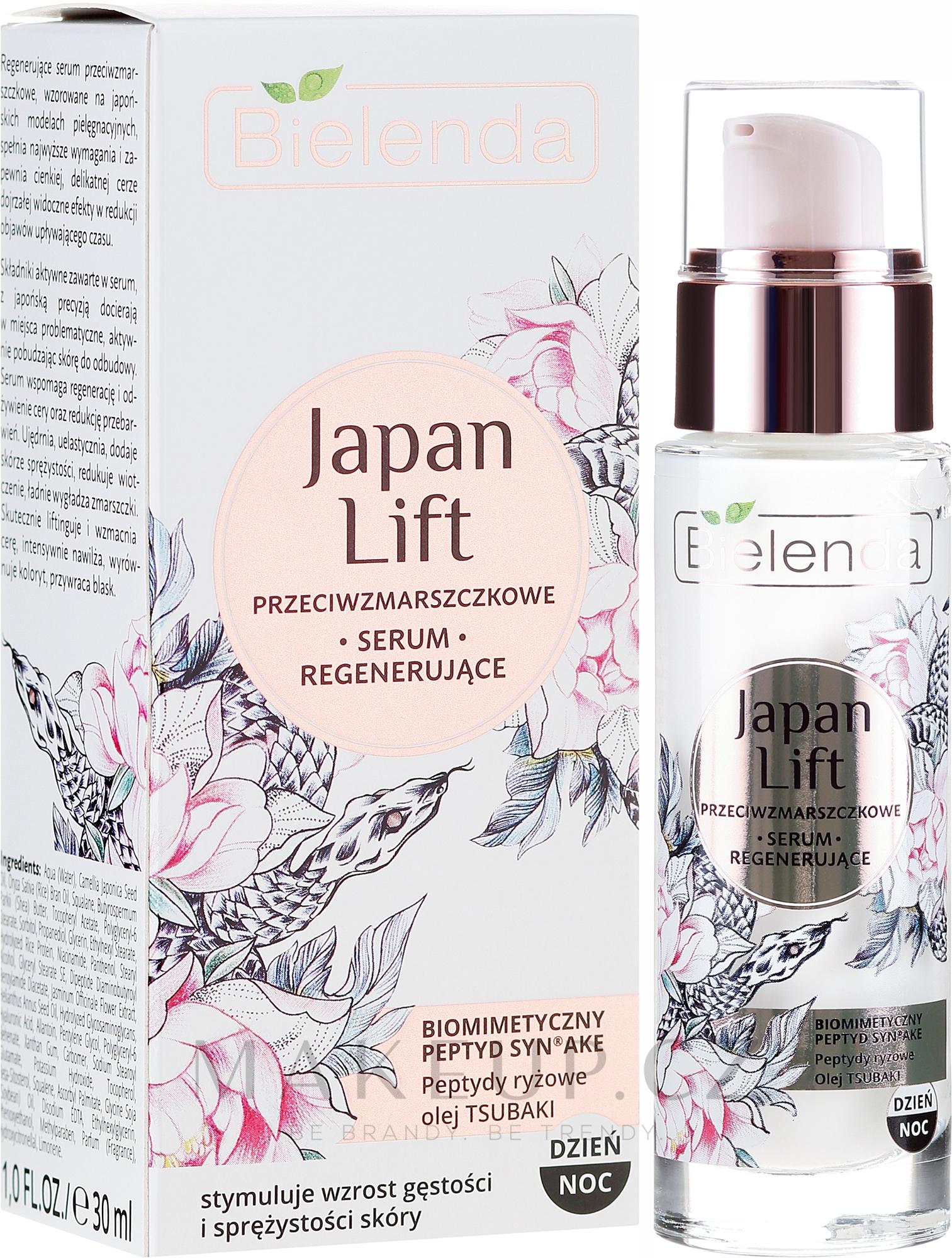 Obnovující sérum proti vráskám - Bielenda Japan Lift Serum — foto 30 ml