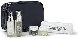 Parfémy, Parfumerie, kosmetika Sada - Omorovicza Essentials (tonic/30ml + balm/15 ml + f/cr/15ml + f/cr/15ml + towel + bag)