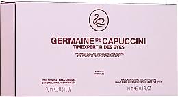 Parfémy, Parfumerie, kosmetika Péče o oční víčka Den a noc - Germaine de Capuccini Timexpert Rides Eye Contour Treatment Night & Day (2 x 10 ml)