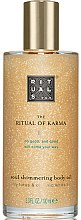 Parfémy, Parfumerie, kosmetika Tělovy olej - Rituals The Ritual of Karma Body Shimmer Oil