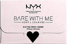 Parfémy, Parfumerie, kosmetika Papír pro matování obličeje - NYX Professional Makeup Bare With Me Mattifying Oil Control Paper