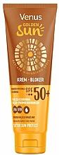 Parfémy, Parfumerie, kosmetika Opalovací krém SPF 50 - Venus Golden Sun Blocker Cream SPF 50
