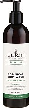 Parfémy, Parfumerie, kosmetika Osvěžující sprchový gel - Sukin Botanical Body Wash