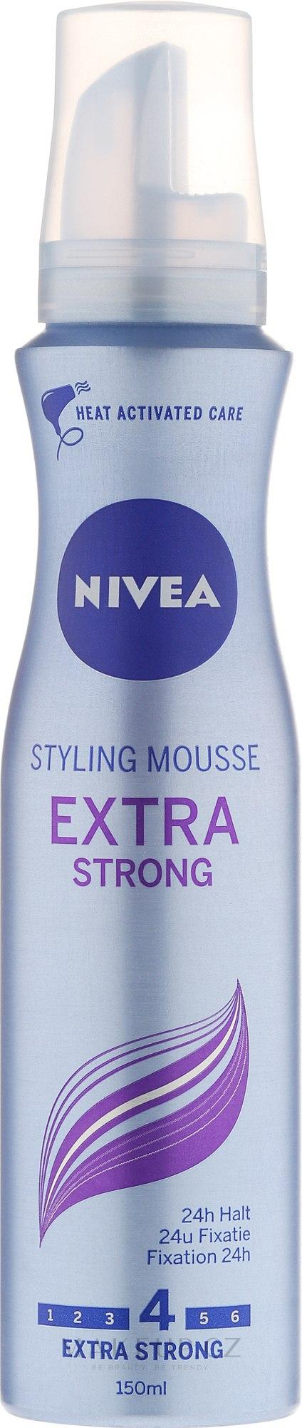 Pěna na vlasy - Nivea Extra Strong Styling Mousse — foto 150 ml