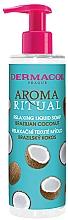 Parfémy, Parfumerie, kosmetika Tekuté mýdlo Brazilský kokos - Dermacol Aroma Ritual Brazilian Coconut Relaxing Liquid Soap